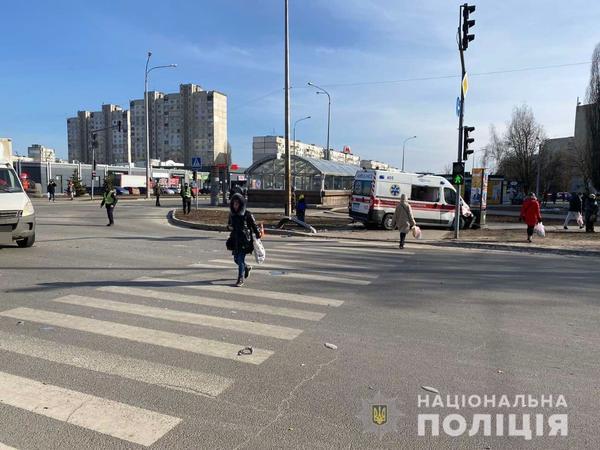 ДТП с участием скорой помощи в Харькове: среди пострадавших – медики (фото)