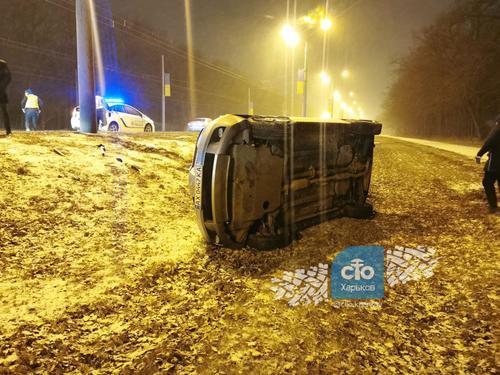 ДТП в Харькове: какие последствия езды на летней резине (фото)