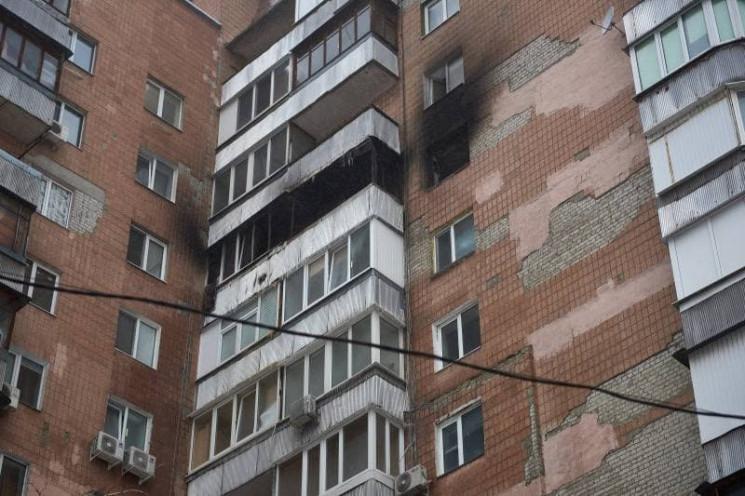 Харьковские коммунальщики восстанавливают после пожара многоэтажный дом: что сделано