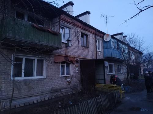 На Харьковщине женщина серьезно пострадала в собственной квартире (фото)