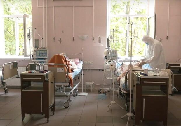 Сколько коек в больницах Харковщины оснащено подачей кислорода