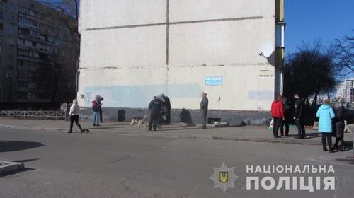 В Харькове прохожие устроили погоню за мужчиной, который избил на улице незнакомку (фото)