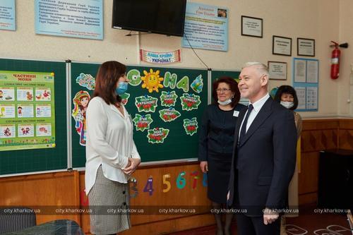 В харьковской школе по просьбе учителей оборудуют новый кабинет биологии