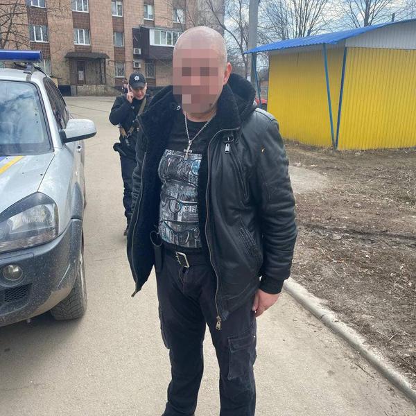 В Харькове мужчина переполошил целый район (фото)