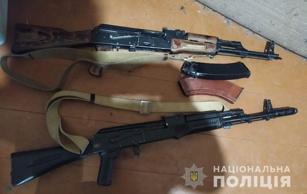 На Харьковщине у мужчины обнаружили смертельно опасные предметы