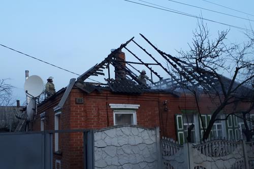 На Харьковщине семья из-за неисправной электропроводки осталась без крыши над головой (фото)