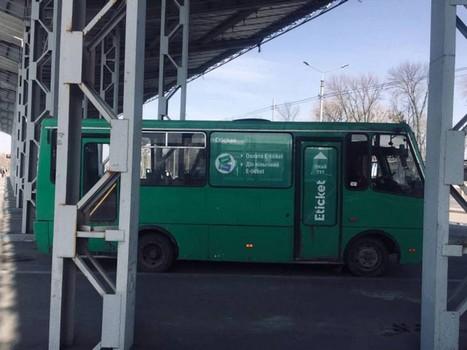 Первый пошел: в харьковском автобусе установили E-ticket (фото)