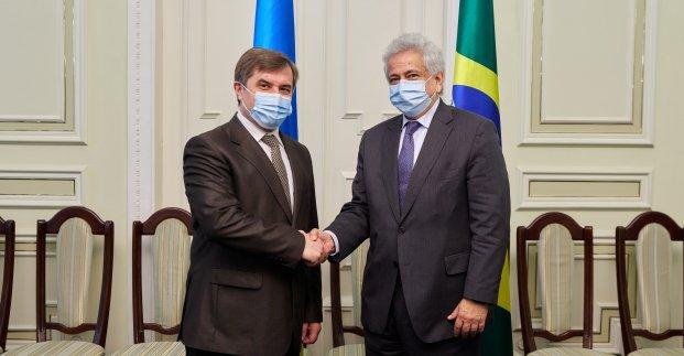 В Харькове рассматривают предложение назвать одну из улиц в честь Бразилии