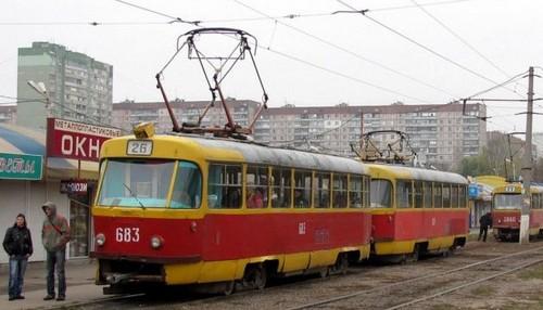 Помешала погода. В Харькове передумали пускать трамваи по другому маршруту