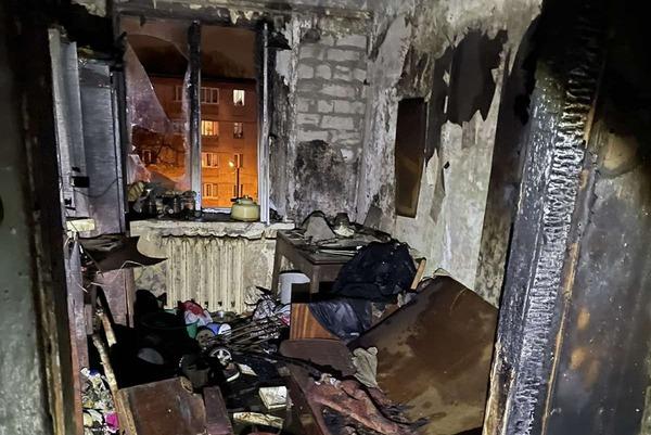 Пожар в Харькове: обгоревшего мужчину спасти не удалось