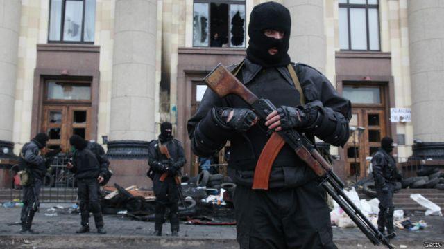 Харьков в XXI веке. 7 апреля – освобождение здания облгосадминистрации