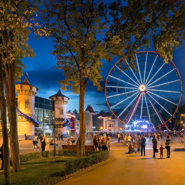 В центральном парке Харькова потерялись дети (фото)