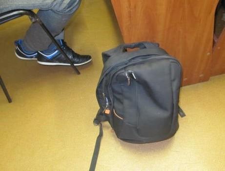 В Харьковской области мужчина попал в неприятности из-за содержимого рюкзака (фото, видео)