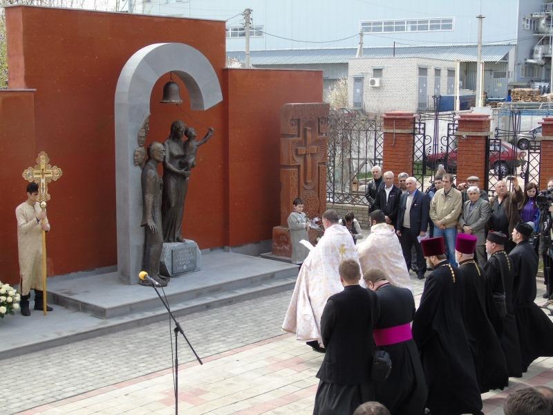 Харьков в XXI веке. 24 апреля – открыт Мемориал жертвам геноцида армян