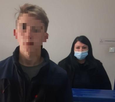 Юноша, который пропал по пути в Харьков, явился в полицию и рассказал, где был