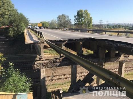 В Харьковской области перенесли закрытие печально известного моста