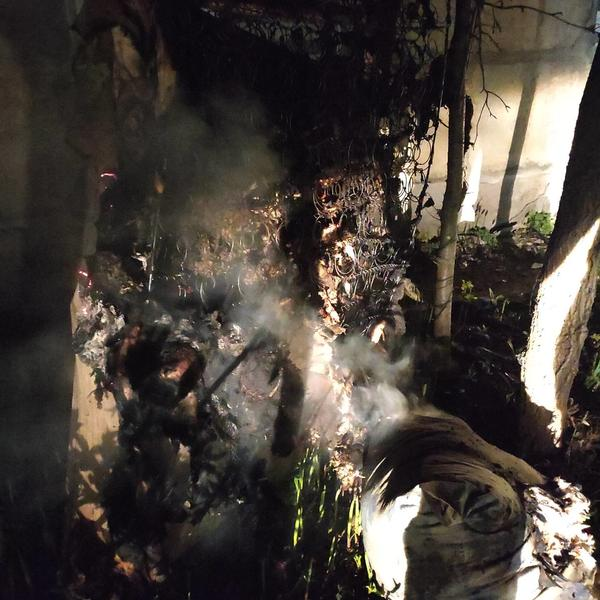 Происшествие на Харьковщине: из опасного здания эвакуировали мужчину (фото)