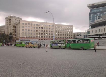 В Харькове пять автобусов временно будут курсировать по новому маршруту