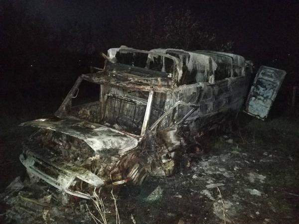 Житель Харьковщины за ночь лишился грузовика (фото)