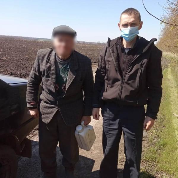 На Харьковщине в лесу нашли пенсионера
