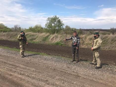 На Харьковщине люди в форме разрушили планы мужчины