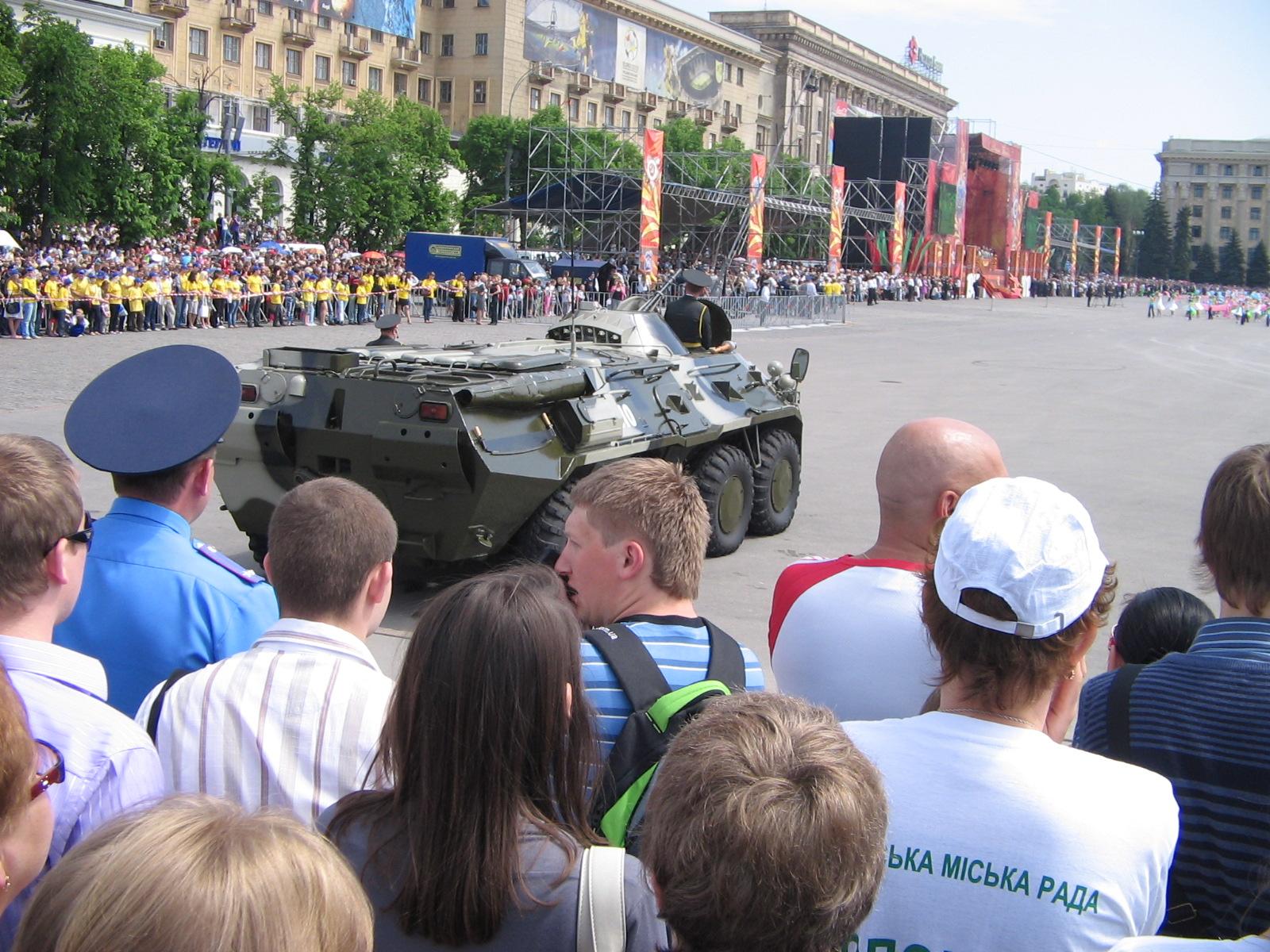 Харьков в XXI веке. 9 мая - парад ветеранов