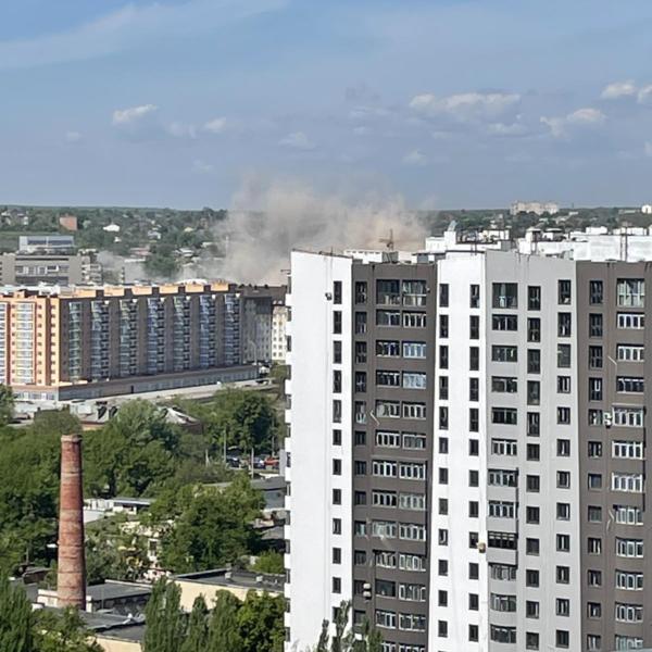 В Харькове взорвали популярное здание (фото, видео)