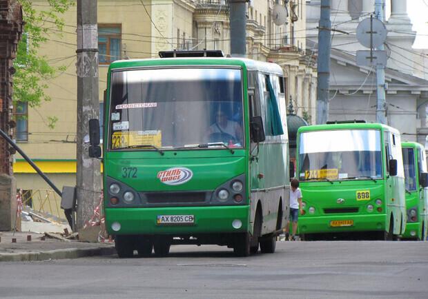 В Харькове водителя маршрутки заставили заплатить за пассажиров