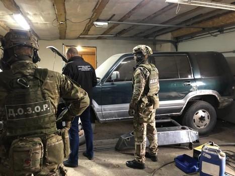 На Харьковщине вычислили группу контрабандистов (фото, видео)