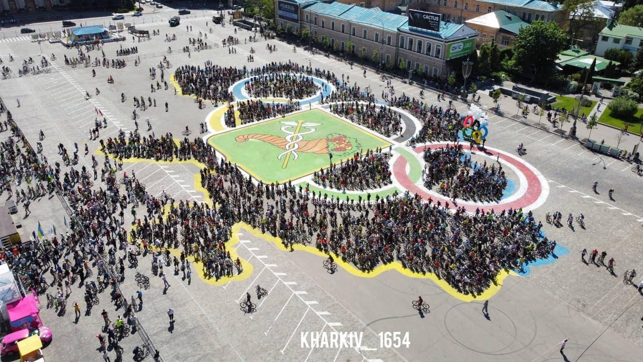 В Харькове установили необычный рекорд (видео)