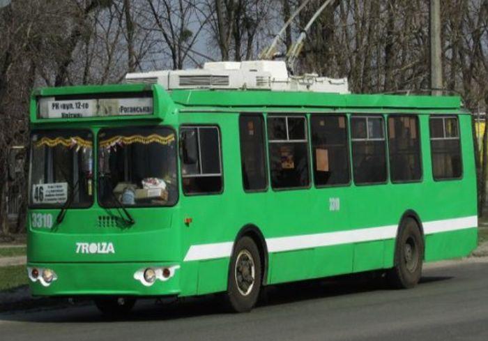 На окраине Харькова временно не будут курсировать троллейбусы