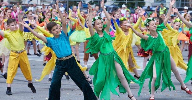 Флешмоб, мастер-классы, семейные игры и дискотека. В Харькове с размахом отметят международный праздник