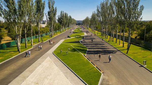 И пешком, и на велосипеде. В Харькове создадут единую сеть парковых зон (фото)