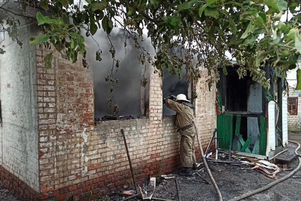 На Харьковщине мужчина погиб в доме брата (фото)