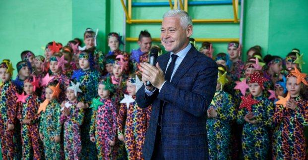 В Харькове воспитанники интерната получили запоминающийся подарок