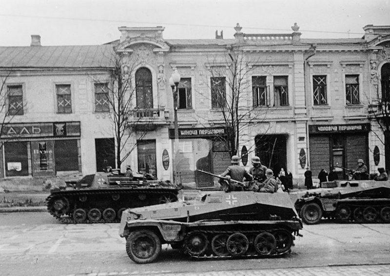Харьков в начале войны (фото)