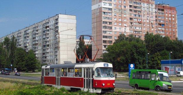 В Харькове несколько трамвайных маршрутов будут курсировать по-новому