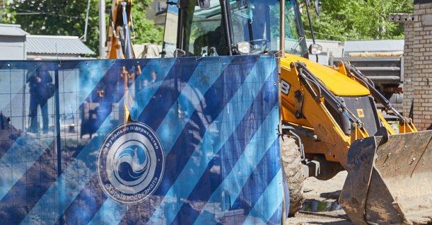 Из-за аварии без воды остались жители части Харькова