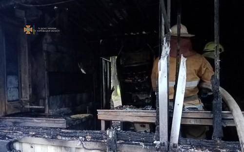 В Харькове сгорела точка общественного питания: озвучена официальная информация (фото)
