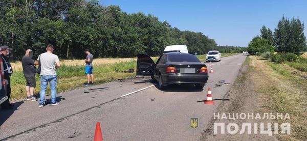 Серьезное ДТП на Харьковщине: машины столкнулись лоб в лоб (видео)
