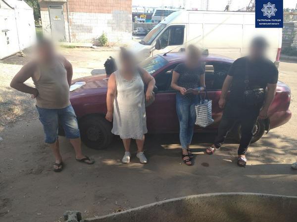 В Харькове внимательный горожанин помог задержать воровскую банду (фото)