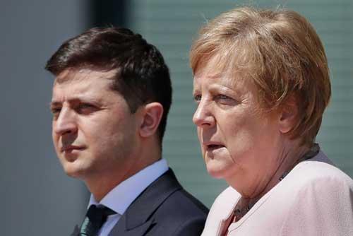О чем говорили Меркель с Зеленским. Подтверждение прогнозов