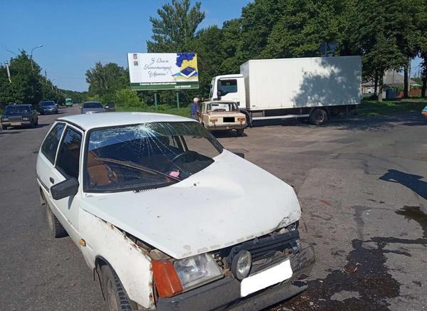 Тройное ДТП на Харьковщине: у машин – серьезные повреждения (фото)