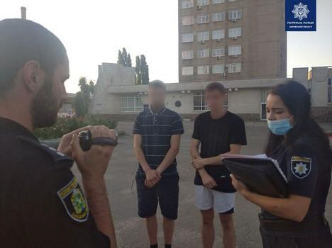 В Харькове устроили погоню за нервными прохожими (фото)