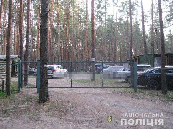 Мужчину ранили на базе отдыха в Харьковской области (фото)