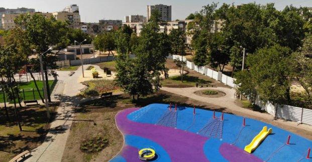 Вместо холма – игровая зона. Новые объекты появятся в двух районах Харькова