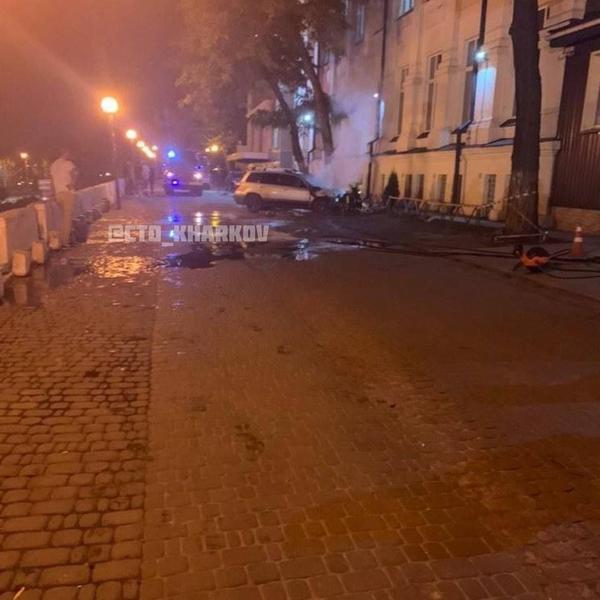 В Харькове массово горят автомобили (фото, видео)