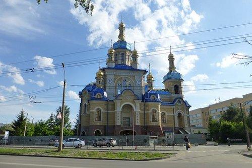 Харьков в XXI веке. 25 сентября - в городе открыли православный храм