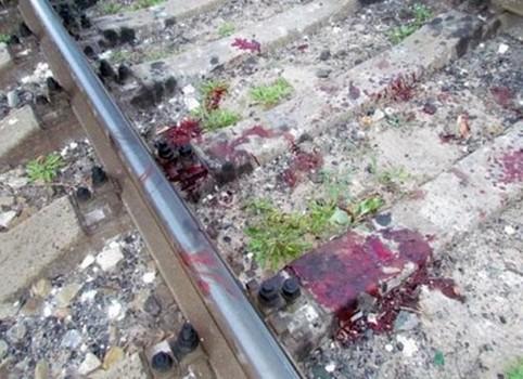 В сети появилось видео момента, как девушку сбил поезд под Харьковом (видео)