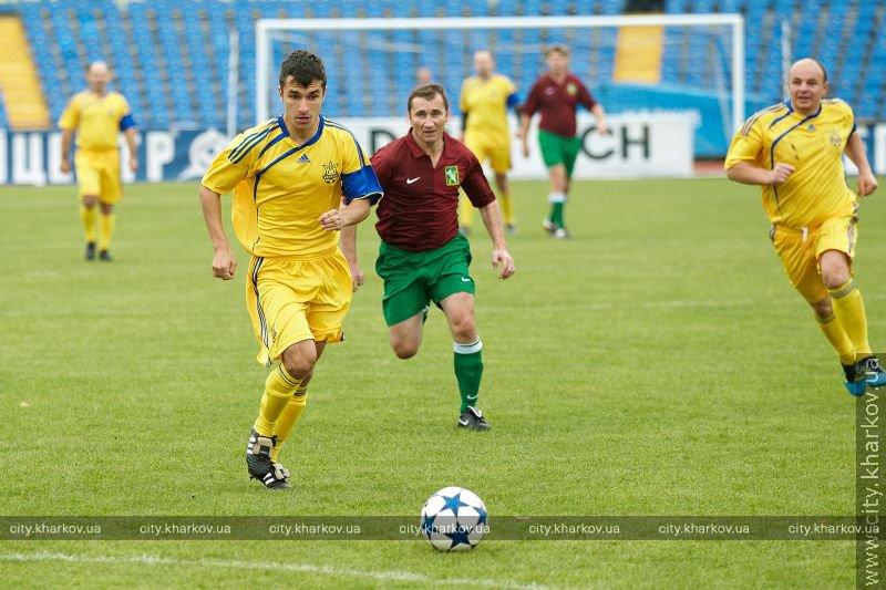 Харьков в XXI веке. 22 октября – состоялся футбольный матч между чиновниками (фото)